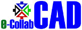 e-CollabCAD logo